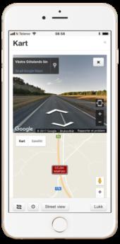 GPS Tracker, streetview