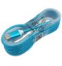 Micro USB ladekabel, blå