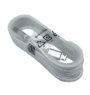 Micro USB ladekabel, hvit