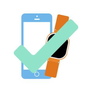 iTrackEasy app, klar til bruk